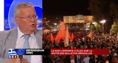 """Référendum grec : """"La zone euro est morte"""", affirme un député Les Républicains"""