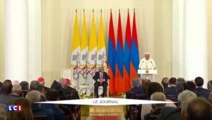 """En Arménie, le pape évoque le """"génocide"""" et appelle l'humanité à éviter """"le danger de tels horreurs"""""""