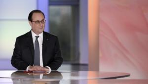 """François Hollande dans """"Dialogues citoyens"""" sur France 2, 14/4/16"""