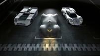 Nouvelle image teaser pour la Chevrolet Chaparral 2X VGT Concept. Une voiture de compétition qui sera officiellement présentée lors du Salon de Los Angeles 2014.