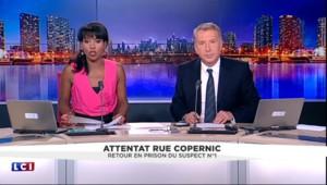 Retour en prison du suspect n°1 de l'attentat de la rue Copernic