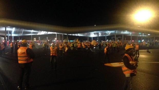 routiers grève saint arnoult