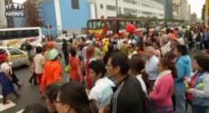 Une ville du Pérou envahie par des clowns