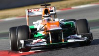 Force India Hulkenberg Tests F1 Barcelone F1 2012