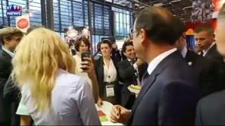 """""""Régalez-vous M. le Président"""" : quand Hollande se laisse aller à la gourmandise"""