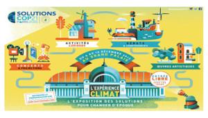 Le programme de l'exposition Solutions COP 21.