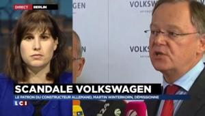 """Mark Winterkorn démissione : """"Volskwagen a besoin d'un nouveau départ"""""""