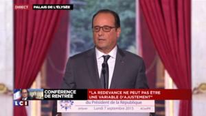 """Primaire au PS : """"Aujourd'hui ce n'est pas ma priorité"""", affirme Hollande"""