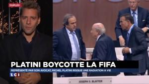 """Radiation à vie : pour l'avocat de Platini, son client est """"innocent"""""""