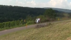 Accident Thierry Neuville Rallye Allemagne 2014