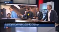 En visite dans une Scop, Macron tente de changer d'image