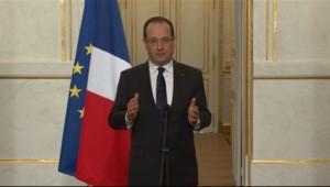 François Hollande lors de son intervention télévisée le 3 avril 2013 sur l'affaire Cahuzac