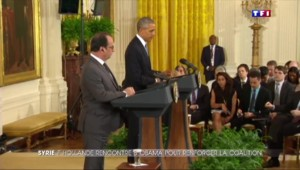 Hollande et Obama, unis face à Daech et Bachar Al-Assad