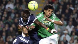 L'AS Saint-Etienne, tenue en échec 0-0 vendredi 3 mai 2013 par les Girondins de Bordeaux