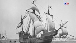Le 13 heures du 14 mai 2014 : La Santa Maria de Christophe Colomb retrouv��a� - 1885.2306372680664
