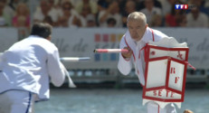 Le 13 heures du 26 août 2014 : 14.000 spectateurs aux joutes nautiques de S� - 1798.3030000000003