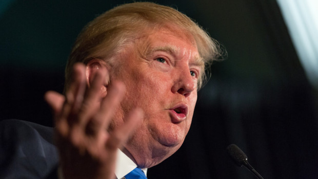 Le milliardaire Donald Trump, le 22 février 2015 à Charleston.