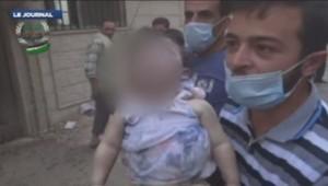Syrie : victime de l'attaque présumée à l'arme chimique près de Damas, 21/8/13