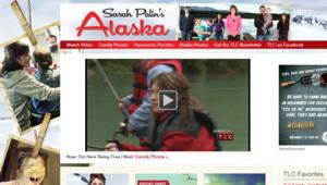 """Capture d'écran du site de """"L'Alaska de Sarah Palin"""" sur le site de TLC, 15 novembre 2010"""