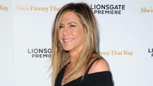 Jennifer Aniston à l'avant-première She's Funny That Way le 19 août 2015 au Harmony Gold Theatre de Los Angeles.