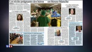 Alerte en Belgique, le retour du drapeau français… Les titres de la presse dominicale