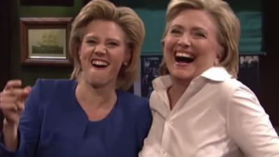 Hillary Clinton sur le plateau de Saturday Nigt Live