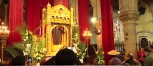 La basilique d'Argenteuil dévoile sa relique du Christ sous haute protection