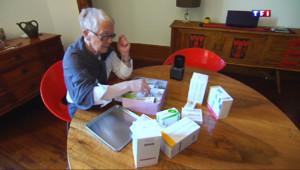 Le 13 heures du 9 avril 2015 : La collecte des médicaments, une initiative de plus en plus adoptée par les Français - 998.8129999999999