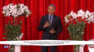 Le message d'amour de Barack Obama à Michelle pour la Saint-Valentin