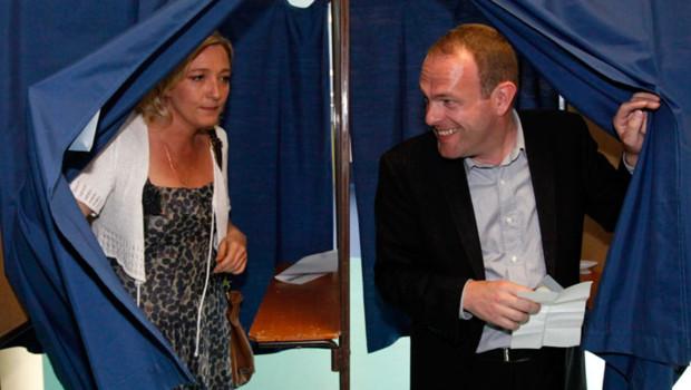 Marine Le Pen Steeve Briois Hénin-Beaumont