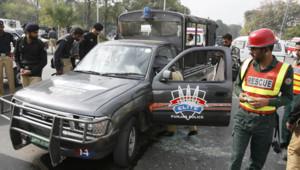 Pakistant attentat lahore cricket