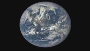 Photo complète de la Terre