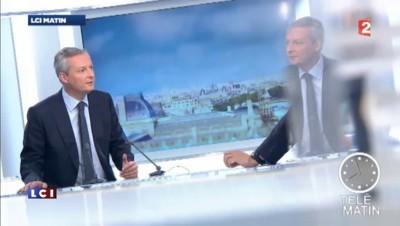 """Retour annoncé de Sarkozy : Bruno Le Maire """"ne croit pas à l'homme providentiel"""""""