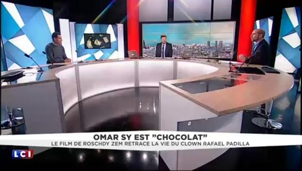 """Roschdy Zem, invité de LCI, présente son nouveau film, """"Chocolat"""""""
