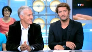 Didier Deschamps et Bixente Lizarazu