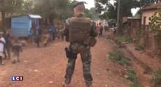 """Centrafrique: """"Si un soldat est coupable, il doit se dénoncer"""", affirme Le Drian"""