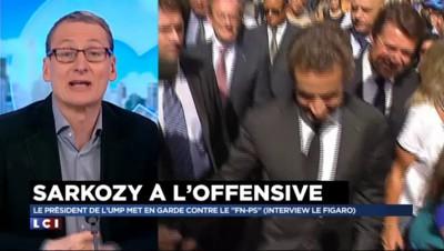"""Interview de Sarkozy au Figaro : """"Pas de mesures nouvelles ou décoiffantes, c'est du classique"""""""