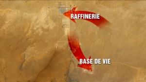 L'usine gazière de Tiguentourine, dans le sud-est désertique de l'Algérie, est un site très isolé à 40 km de la ville d'In Amenas