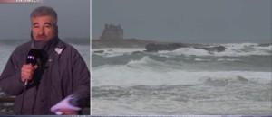 La Bretagne, la côte normande et le Nord-Pas-de-Calais en alerte tempête et vague-submersion