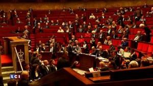 """Les """"frondeurs"""" protestent contre le passage en force de la loi Macron"""