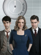 The Hour - Saison 1. Srie britannique cre par Abi Morgan en 2011. Avec : Dominic West, Romola Garai, Ben Whishaw 