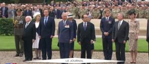 Centenaire de la bataille de la Somme : Cameron, Hollande et la famille royale britannique réunis