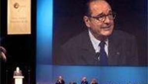 Chirac à BioVision