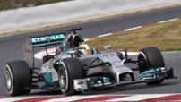 GP Espagne 2014 - Lewis Hamilton - Essais