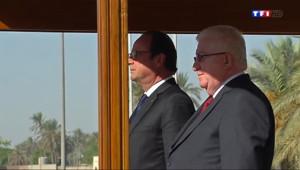 Le 13 heures du 12 septembre 2014 : Hollande en d�acement en Irak - 508.8908605499267