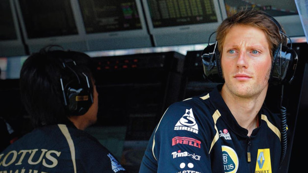 Romain Grosjean 2012 Lotus