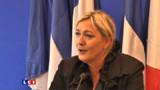 """Norvège : Marine Le Pen pas """"en désaccord"""" avec son père"""