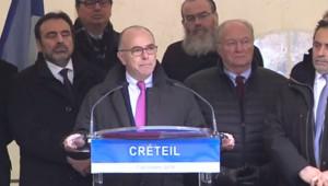 bernard cazeneuve créteil antisémitisme rassemblement juifs