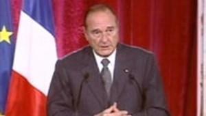 chirac elysee irak