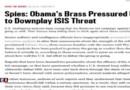 Etats-Unis : les services de renseignements soupçonnés d'auto-censure